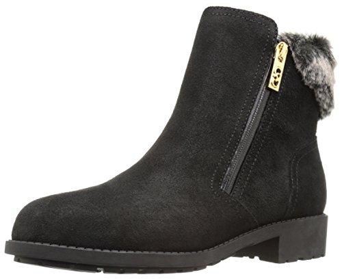 [コールハーン] ブーツ/ブーティ W04744 ブラック ウォータープルーフ スエード/シャーリング 24.5 cm