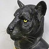 tytlmaske Lebhafte Leoparden Latex Maske,Panther Tier Gummi Maske,Für Halloween Kostüme Party...