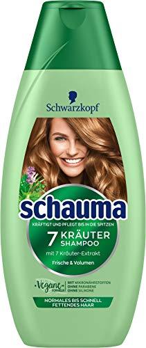 SCHWARZKOPF SCHAUMA Shampoo 7-Kräuter, 1er Pack (1 x 400 ml)