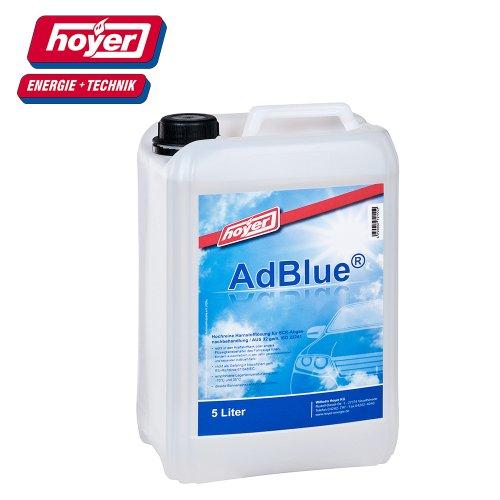 Hoyer Adblue hochreine SCR Urée Solution ISO 22241