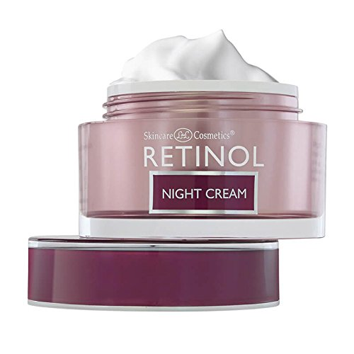 Retinol Night Cream – The Original Anti-Aging Retinol For Younger Looking Skin – Luxurious Restorative Moisturizer Works While You Sleep to Reduce Fine Lines And Other Signs of Aging