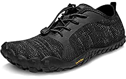 top 10 barefoot running shoes TSLA Men's Trail Running Shoes, Lightweight Zero Fall Athletic Sandals, Non-Slip Outdoors …