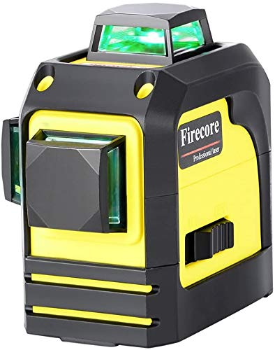 Firecore 12ライン グリーン レーザー墨出し器 3D F93TG レーザーレベル 360 水平および垂直 高輝度 高精度 ミニ型