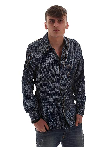 Versace Jeans B1GVB603S0683904 Hemd Man Blau M