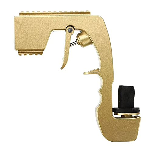 COMEONE Bubbly Blaster Champagne Gun, Adjustable Wine Stopper Champagne Wine Dispenser Fountain Bottle Beer Ejector, for Wedding Party Night Club Bar Party Tool (Gold)