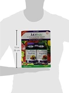 Natrol JuiceFestiv - 240 FruitFestiv & 240 VeggieFestiv Capsules