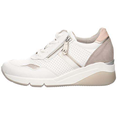 GABOR - Womens Shoes - 4 UK - Gabor 66.488 - 51 Weiss/Puder/Rosa - 5.5 UK