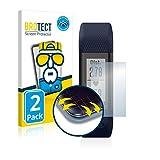 brotect Pellicola Copertura Completa Compatibile con Garmin Vivosmart HR+ (2 Pezzi) Full-Cover 3D Curvo