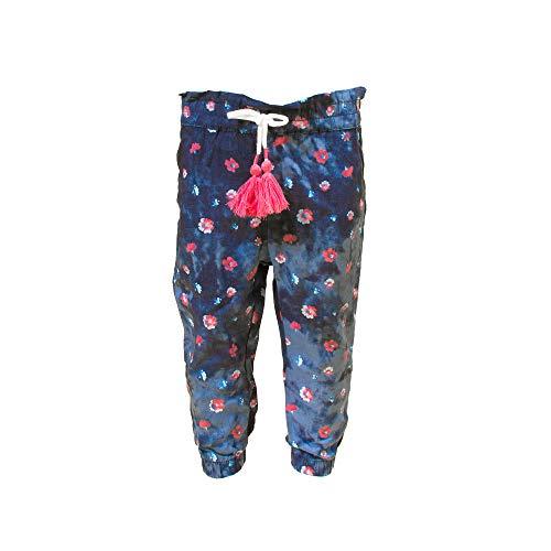 SALT AND PEPPER Baby-Mädchen Trousers Girls Viscose Freizeithose, Navy, 86