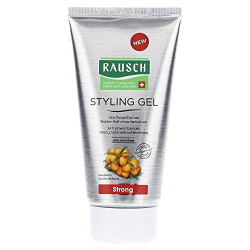 Rausch Styling Gel Strong (mit Power-Formel für 24 h Langzeithalt, ohne zu verkleben - Vegan), 1er Pack (1 x 150 ml)