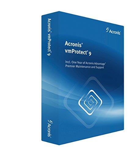 Acronis Backup for VMware - (V. 9 ) - Box-Pack + 1 Year Advantage Premier - 1 CPU - Win - Deutsch