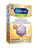 5. Enfamil Poly-Vi-Sol with Iron Multivitamin Supplement Drops for Infants and Toddlers, 50 mL dropper bottle (Packaging May Vary)