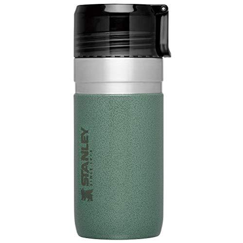 STANLEY(スタンレー) 新ロゴ ゴーシリーズ 真空ボトル 0.47L グリーン 保温 保冷 直飲み 水筒 アウトドア 保証 09541-002 (日本正規品)