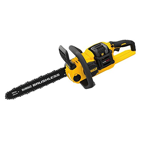DEWALT FLEXVOLT 60V MAX Chainsaw Kit, 3-Ah Battery, 16-Inch (DCCS670X1)