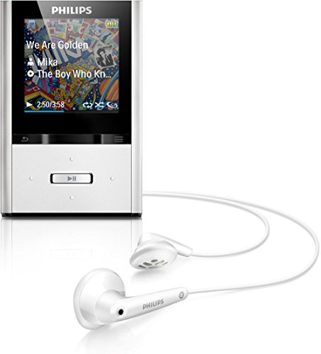 Philips GoGear Vibe 8GB MP3 Player - Aluminum