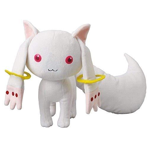 lsradu Anime Puella Magi Madoka Magica Kyubey Plüschtier, Cosplay, niedlich, 21 cm