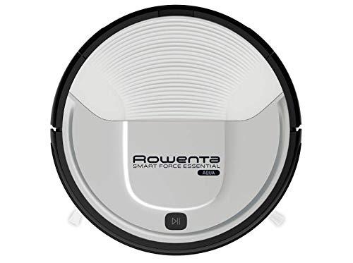 Rowenta Smart Force Essential Aqua RR6976 - Robot aspirador 2 en 1, aspira y friega, con sensores anticaida, bateria ion-litio de 150 minutos de autonomia (Reacondicionado)