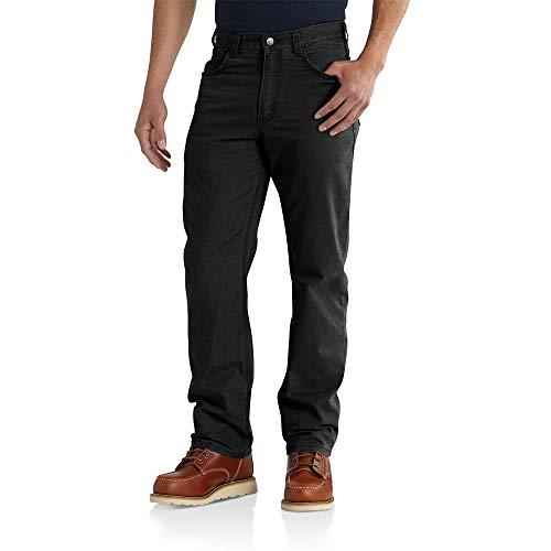Carhartt Rigby Five Pocket Pant Mutande, Black, W36/L34 Uomo