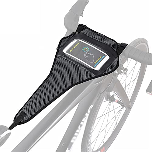 Musun Bike Sweat Guard, Sweat Catcher for Roller Trainer, Sweat Catcher, Bicycle Trainer Accessories, Bicycle Sweat Net Sweat Cover for Smartphone, Anti-Sweat, Breathable, Quick Drying