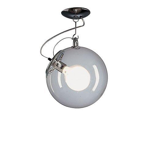Artemide Miconos plafondlamp, Ø30 H 48 cm, chroom