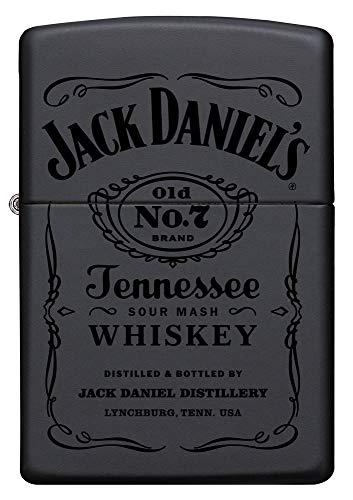 Zippo Feuerzeug 60001369 Jack Daniel\'s Benzinfeuerzeug, Messing