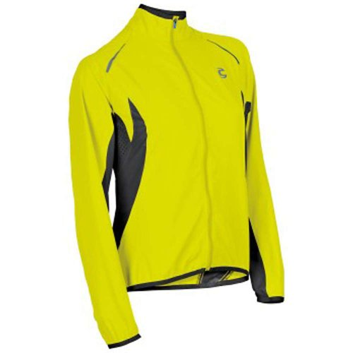 Cannondale Pack Me Jacket - Women's Hi-Vis Yellow Medium