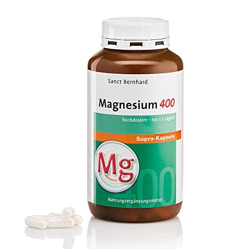 Sanct Bernhard Magnesium-400-supra Kapseln, 300 Kapseln