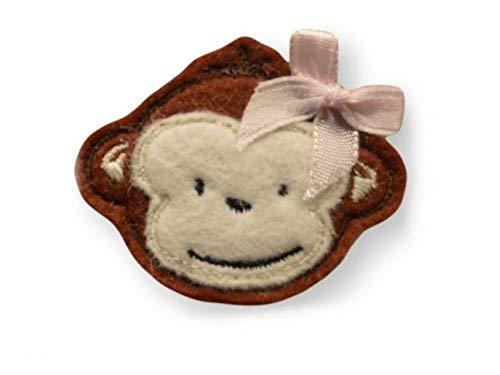 Affe Haarspange für Kleinkinder - freie Farbwahl