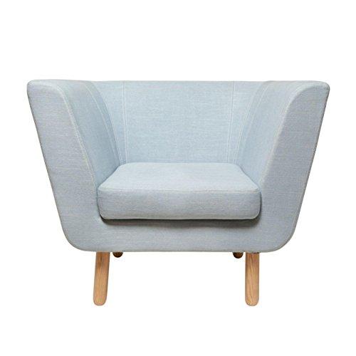 Nest Easy Chair Sessel Design House Stockholm-Türkis (hellblau)