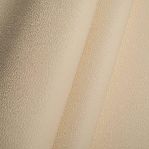 EDGE Kunstleder Meterware 1lfm 1,4m breit Polsterstoff Bezugsstoff Lederoptik Beige
