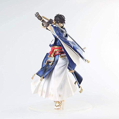 Anime Touken Ranbu mikazuki Zhongjin Vera Spada Deve Uccidere (25 cm di Altezza) Figura de Anime Figuras de acción Modelo de Personaje de Anime