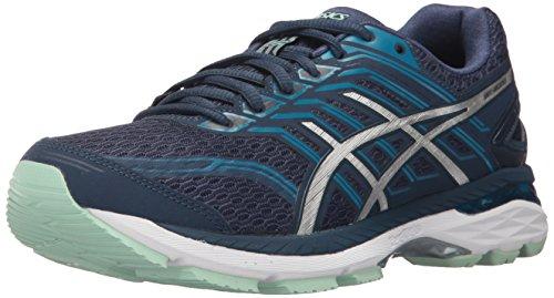 ASICS Women's GT-2000 5 Running Shoe, Insignia Blue/Silver/Glacier Sea, 7 Medium US