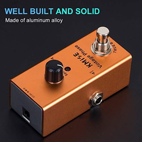 Pedal de efectos de guitarra eléctrica Mini solo tipo DC 9V True Bypass