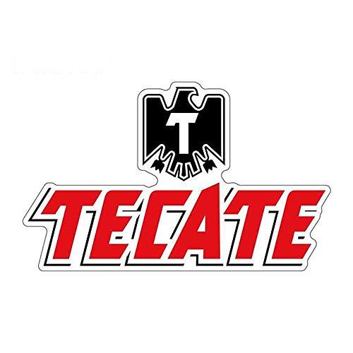 13 cm x 7,6 cm Autoaufkleber und Abziehbilder für TECATE Logo Graphics JDM Laptop Motorrad Autoverpackung