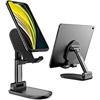 UXD Foldable Cell Phone/Tablet Stand (Black)