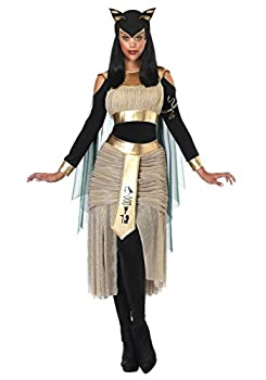 Women s Egyptian Goddess Bastet Costume Sexy Egyptian Costume for Women X-Large