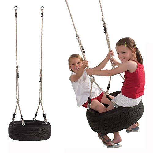 Gartenpirat Horizontale Reifenschaukel mit Reifen für Kinder