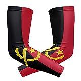 All3DPrint Manchons de protection pour bras Motif drapeau de l'Angola