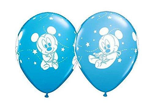 Partyklar 10 Luftballons Baby Mickey Maus 26cm