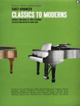 Early Advanced Classics to Moderns: Music for Millions Series (Music for Milions)