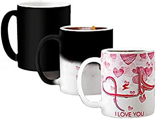 Sponsored Ad – Heat Changing Magic Mug- Valentine Day Arabic I LOVE YOU text gift