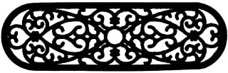 Imports Decor Rubber Stair Mat, Elliptical Curl, 10-Inch by 30-Inch