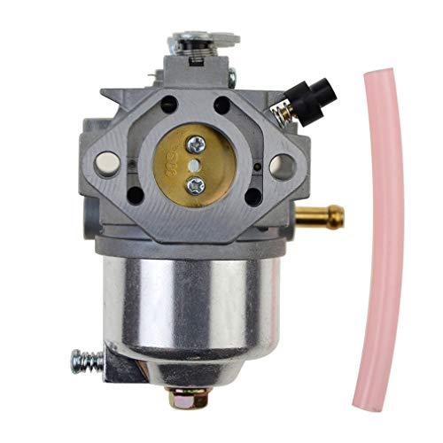 WOOSTAR Carburador con Tubo Gasolina Reemplazo para Kawasaki AM122462 GX70 GX75 SX75 SRX75 Cortacésped