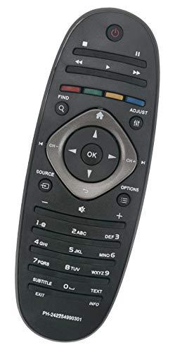 ALLIMITY RM-D1070 242254990301 Reemplace el Control Remoto por Philips LED TV 32PFL5306H 32PFL5606H 32PFL6606K 37PFL6606H 40PFL5606H 42PFL3505H 42PFL7696M 46PFL6606K 47PFL7456H 32PFL3406H
