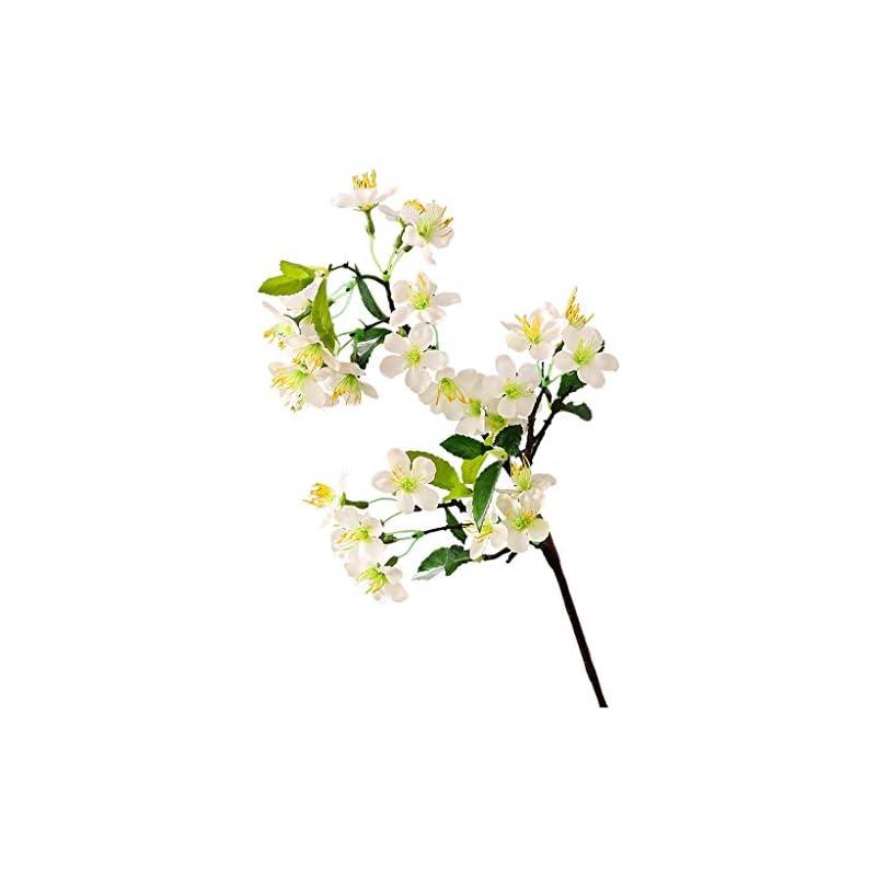 silk flower arrangements yjs silk flower pear flower imitation flower can be checked vase fake gardenia overall artificial flower orange flower