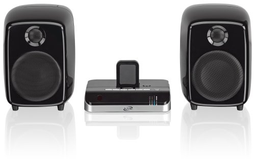 travel speakers for ipods iLive Bluetooth Speaker System with iPad/iPhone/iPod Dock - Black