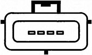 HELLA 8ET 009 142-281 Luftmassenmesser, Anschlussanzahl 4, Montageart geschraubt