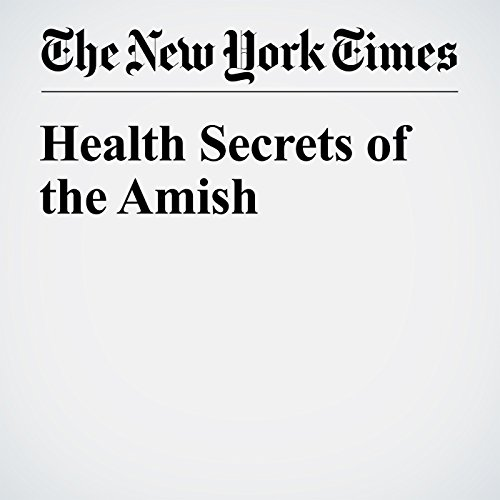 Health Secrets of the Amish cover art