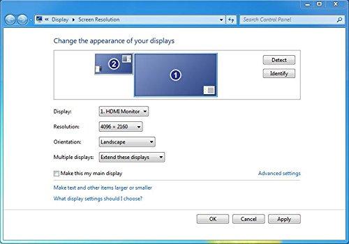 4K Display Emulator Plug Headless Ghost Emulator Fake Display(Fit Headless-1920x1080-4096x2160 @60Hz)-2Pack