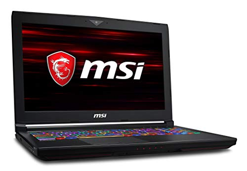 MSI GT63 TITAN-052 15.6' 120Hz 3ms G-Sync Extreme Gaming Laptop GTX 1080 8G i7-8750H (6 Cores) 16GB 256GB SSD + 1TB, Per Key RGB KB, Windows 10 64 bit